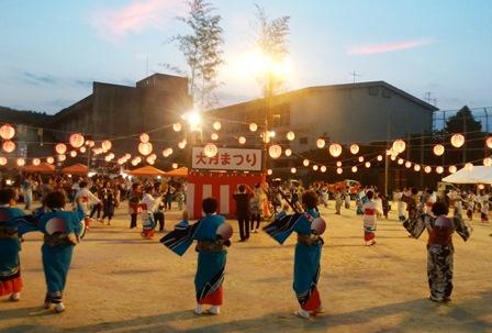 大月祭り盆踊りweb