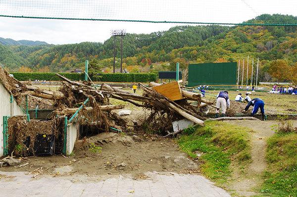 岩泉の被災地(4)