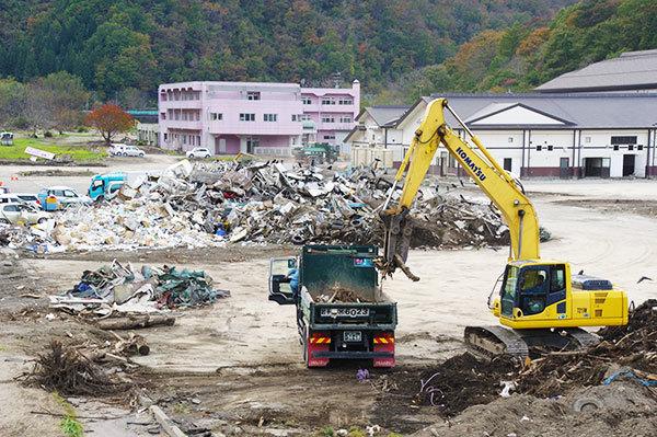 岩泉の被災地(5)