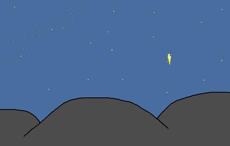 夏の夜空2