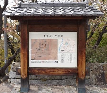 01の2上田城入口説明板2016年4月
