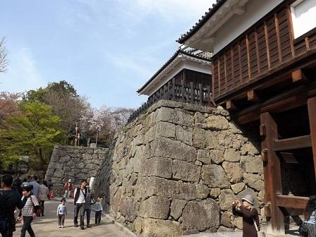 08西櫓(内側から)2016年4月(2)