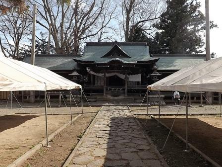 22の2諏訪護国神社2016年4月