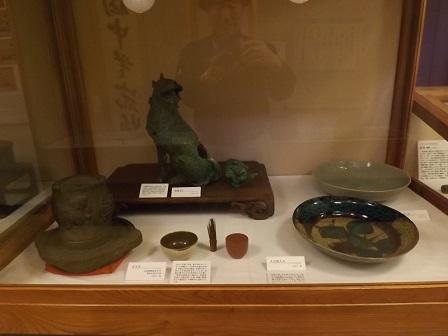 26高島城内部の展示品2016年4月