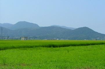 朝倉山城跡見学1