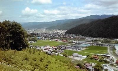尾崎城からの遠望