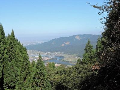 編集_⑩波多野城跡直下の休憩テントからの眺め2016年10月2日
