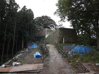 2016年10月17日下越城館めぐり(村上城跡) (10)
