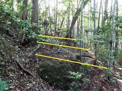 越前町栃川の山城踏査2016年11月7日 (4)