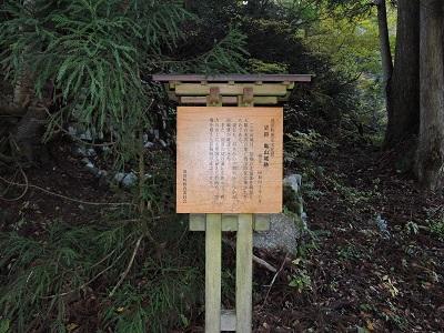 池田町梅田氏庭園他の踏査2016年11月13日 (2)