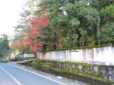 池田町梅田氏庭園他の踏査2016年11月13日 (4)