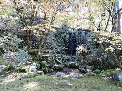 池田町梅田氏庭園他の踏査2016年11月13日 (5)