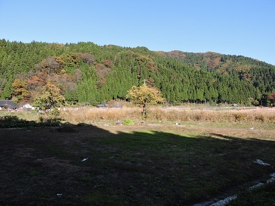 池田町梅田氏庭園他の踏査2016年11月13日 (7)