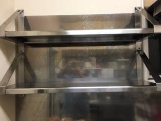 調理室の棚