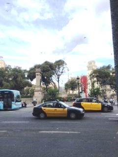 バルセロナのタクシー