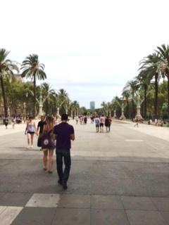 海までの広場