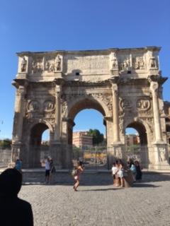 凱旋門ローマ