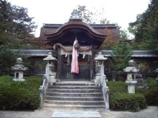 老杉神社本殿