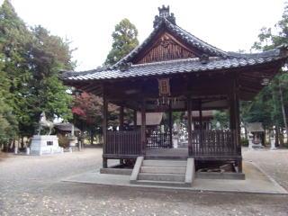 志那神社拝殿