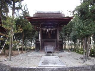 志那神社本殿