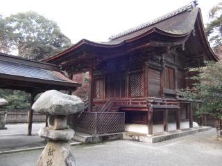 小津神社本殿