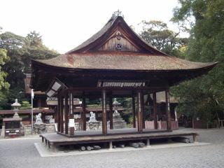 大宝神社拝殿