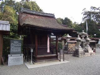 稲田姫社本殿