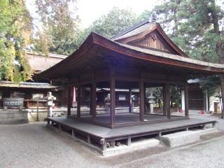 宇和宮神社拝殿