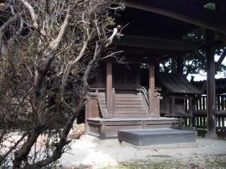 大行事神社本殿