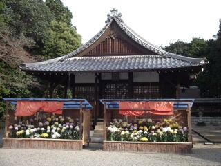 生和神社拝殿