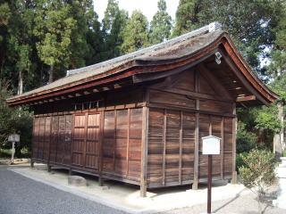 苗村神社神輿庫