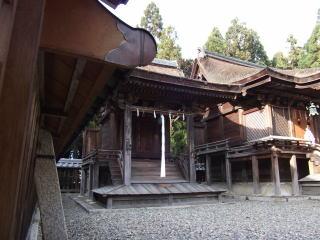 苗村神社八幡社本殿