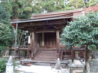 押立神社本殿
