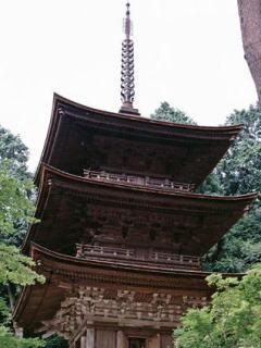 金剛輪寺三重塔