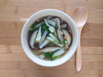 筍と干ししいたけの中華スープ