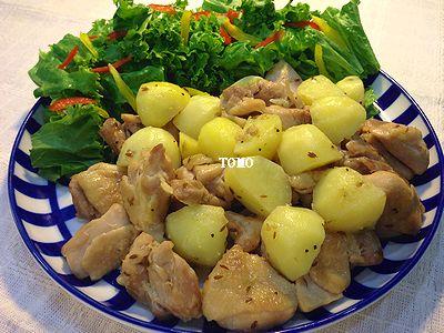 おもてなしにも♪鶏肉とジャガイモのスパイス炒め