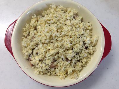 サバ水煮缶のパン粉焼き5