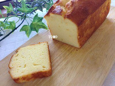 ヨーグルトのパウンドケーキ1