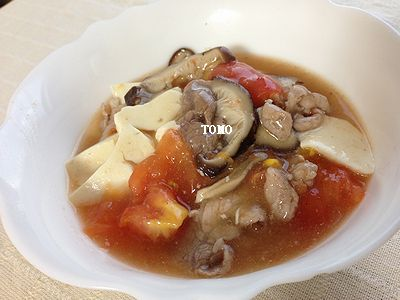 宮崎産乾しいたけとトマトの旨煮