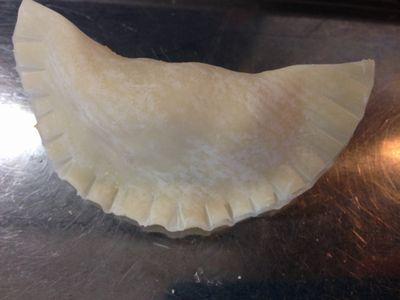 餃子の皮でサモサ