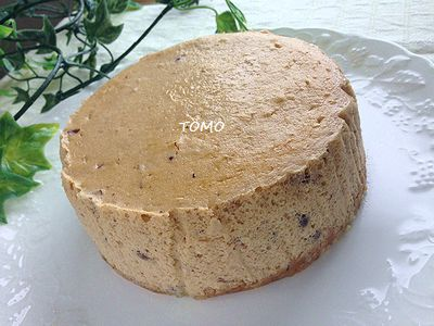 小豆のチーズケーキ