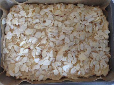 米粉のりんごのスクウェアケーキ1