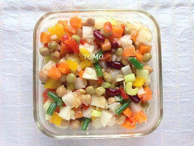 色々野菜のマリネ