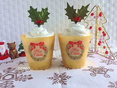 2016スイパクリスマスカップデザート