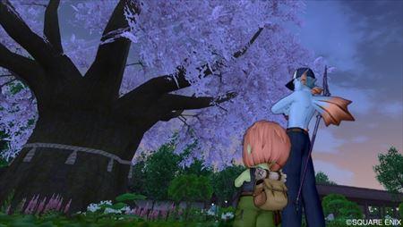 夜明けの桜_R