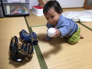 161112純大キャッチボール