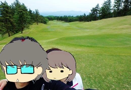 伊香保カントリークラブでゴルフラウンド