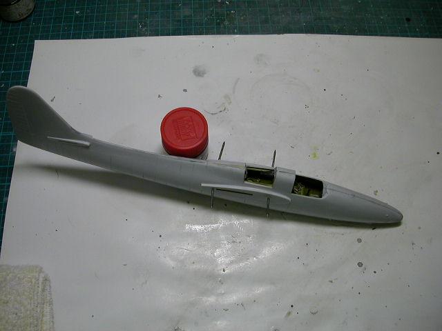F7F胴体