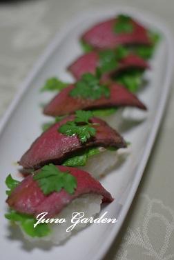 ローストビーフ寿司160520