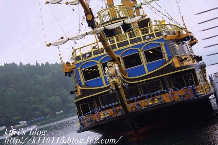 2016芦ノ湖海賊船 (2)